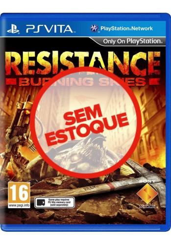 Resistance Burning Skies - PS VITA