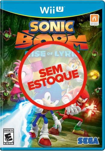 Sonic Boom: Rise of Lyric - WiiU