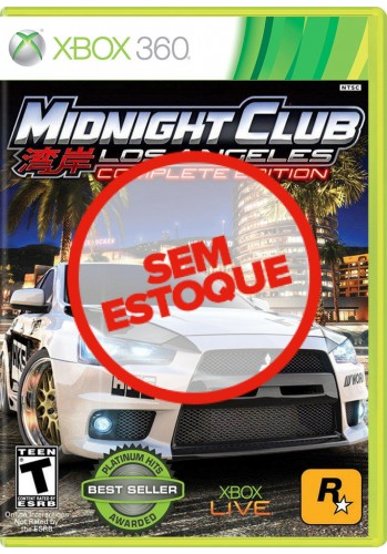 Midnight Club: Los Angeles (Complete Edition) - Xbox 360