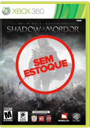 Terra-Média: Sombras de Mordor (Shadow of Mordor) - Xbox 360