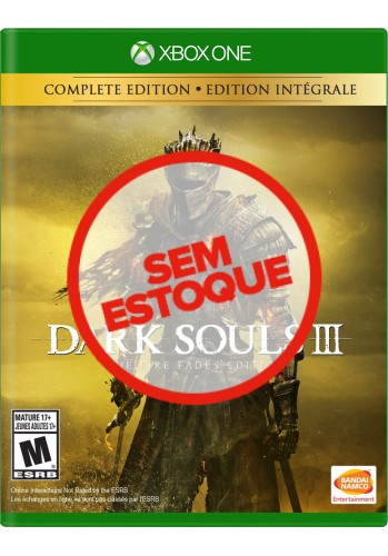 Dark Souls 3: The Fire Fades Edition - Xbox One