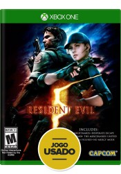Resident Evil 5 - Xbox One ( Usado )