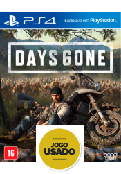 Days Gone - PS4 (Usado)