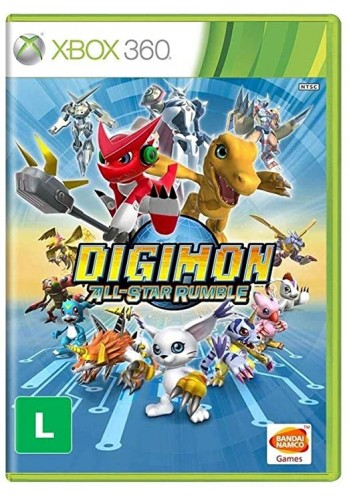 Digimon All-Star Rumble - Xbox 360 (Usado)