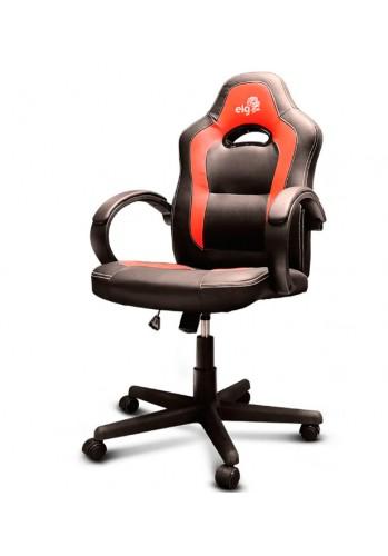 Cadeira Gamer Racing C/Apoio Cervical - Encosto Reclinável - Descansa Braços - Ajuste de Altura - CH03RD - Vermelho/Preto - ELG