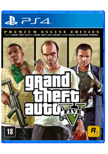 Grand Thef.T Auto V - Premium Online Edition - PS4