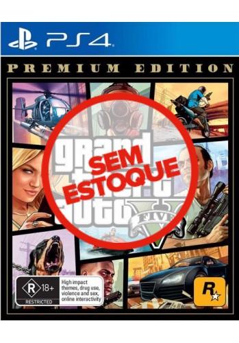 GTA V: Grand Theft Auto - PS4 (Premium Edition)