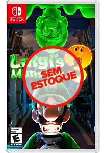 Luigi's Mansion 3  - Switch (Usado)