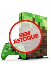 Xbox One S 1TB Edição especial Minecraft