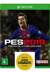 PES 2019: Pro Evolution Soccer - Xbox One (Usado)