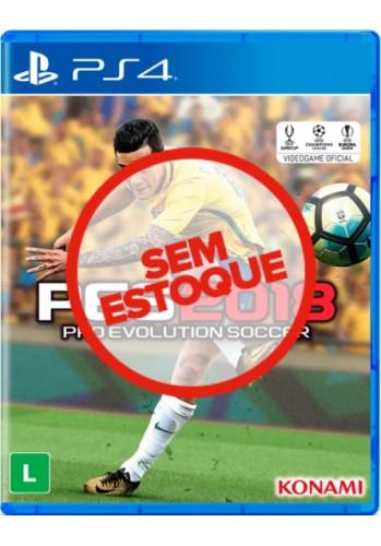 PES 2018: Pro Evolution Soccer - PS4