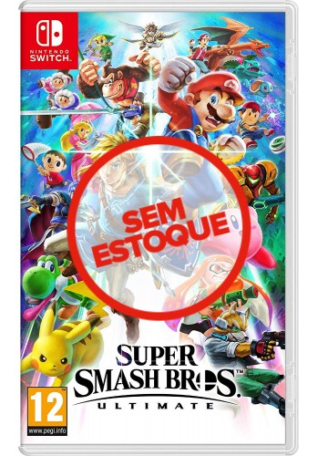 Super Smash Bros Ultimate - Switch (USADO)