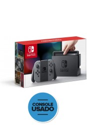 Nintendo Switch 32GB - Cinza (Usado)