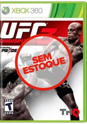 UFC Undisputed 3 - Xbox 360 (Usado)