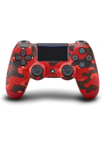 Controle Dualshock 4 - PS4  | Vermelho Camuflado