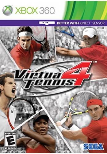 Virtua Tennis 4 - Xbox 360 (Usado)